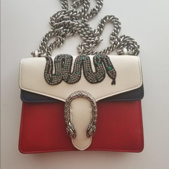 Gucci Handbags - Gucci Bag Dionysus with snake 100% original